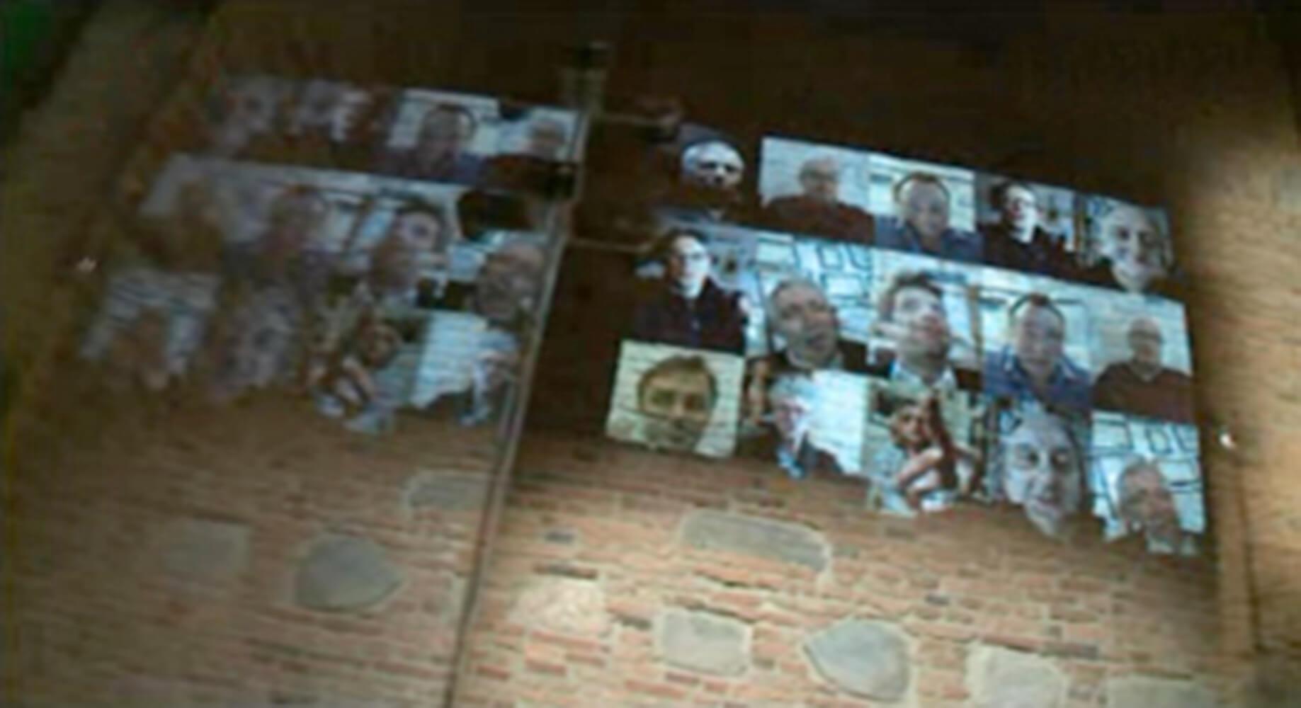 Adam Dudek instalacja muzeum chopina guestbook 1