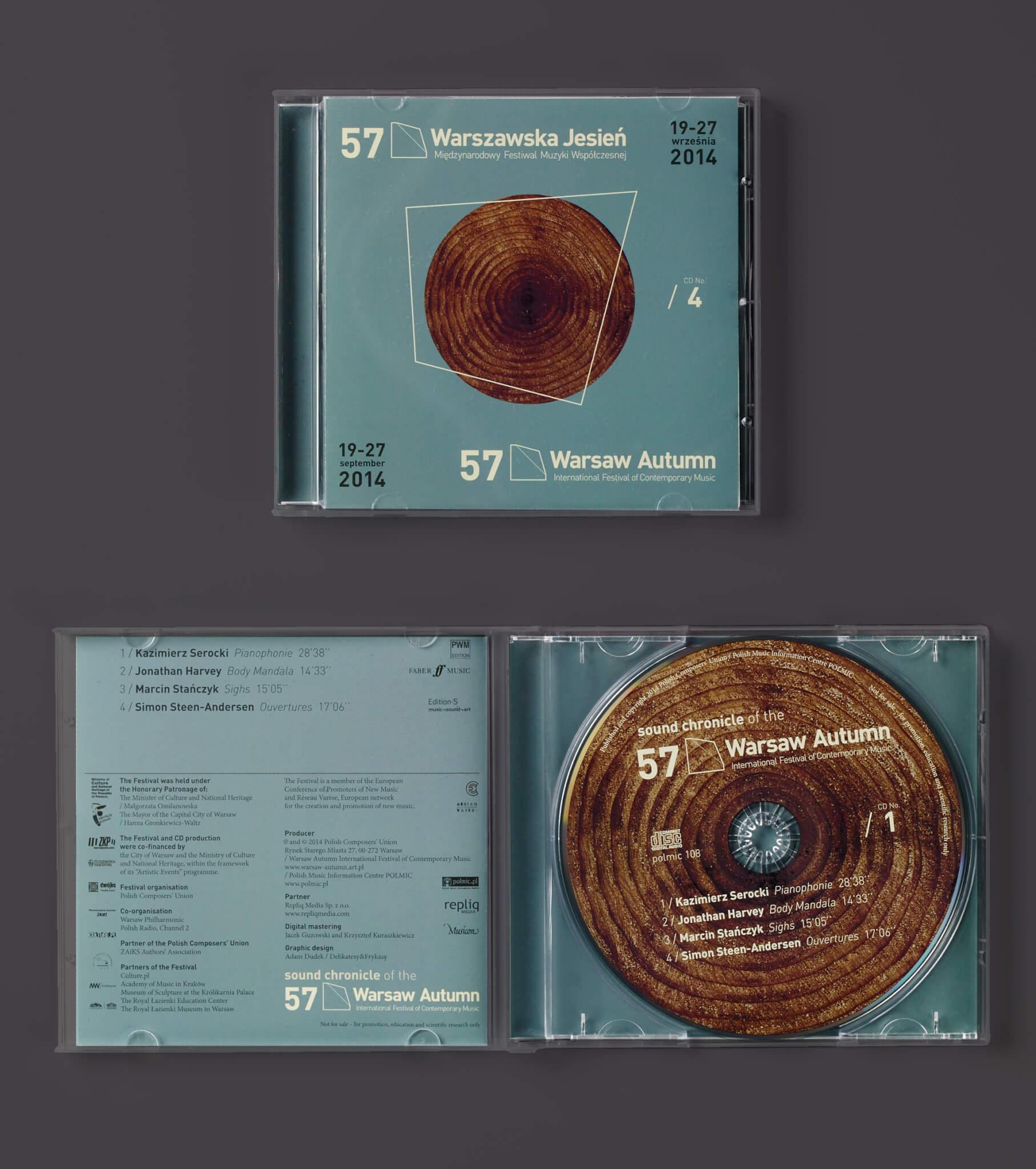 Adam Dudek Warszawska Jesień 2014 CD