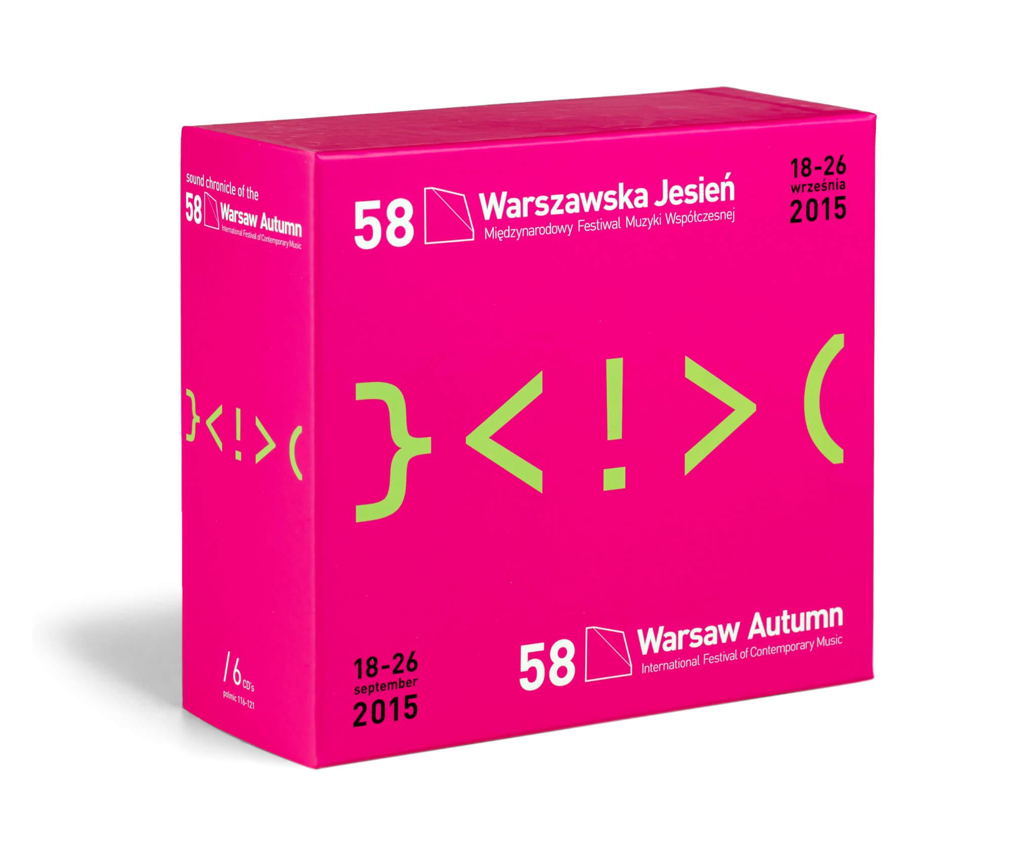 Adam Dudek Warszawska Jesień 2015 CD