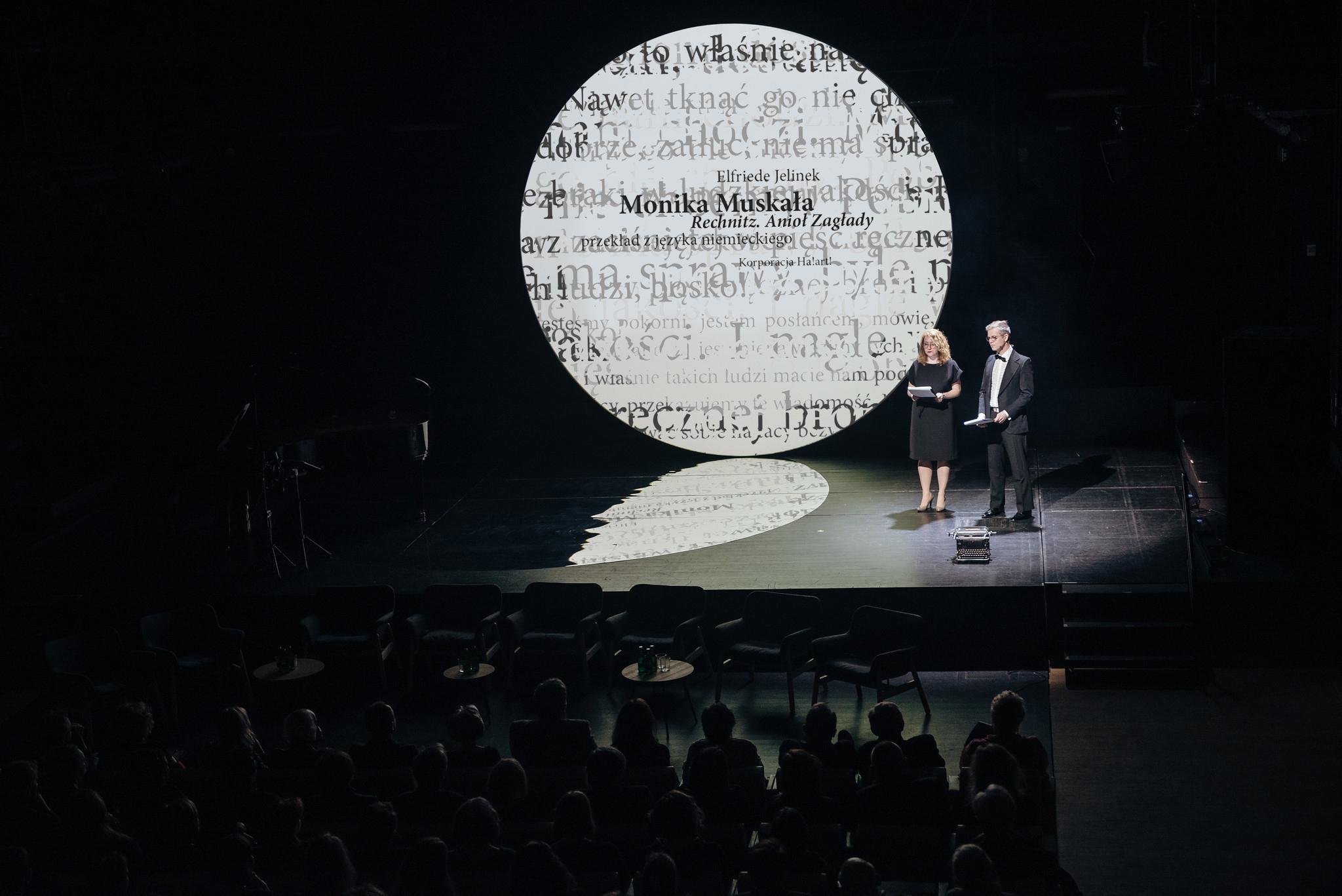 odnalezione w tłumaczeniu gdańsk Adam Dudek, projekt graficzny